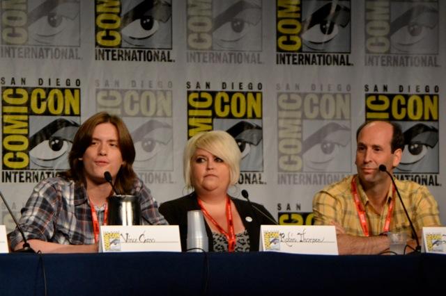 Guild SDCC- Vince, Robin & Jeff