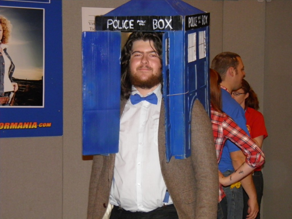 London Film and Comic Convention - Dr Who fan