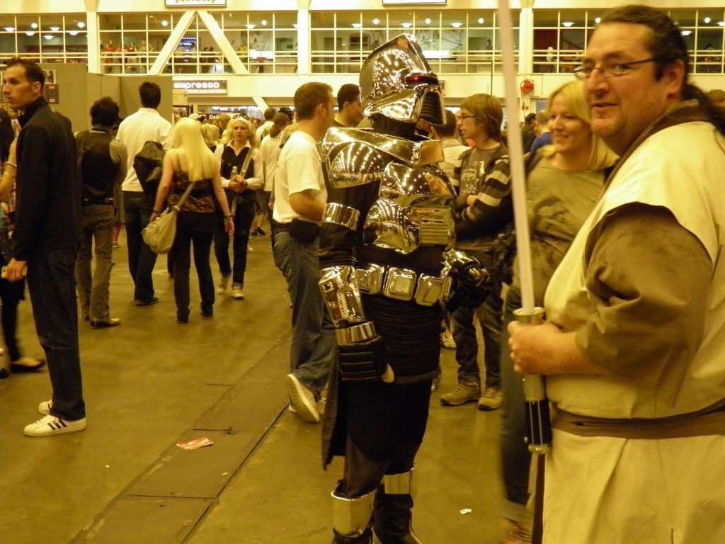 London Film and Comic Convention - fans in costume