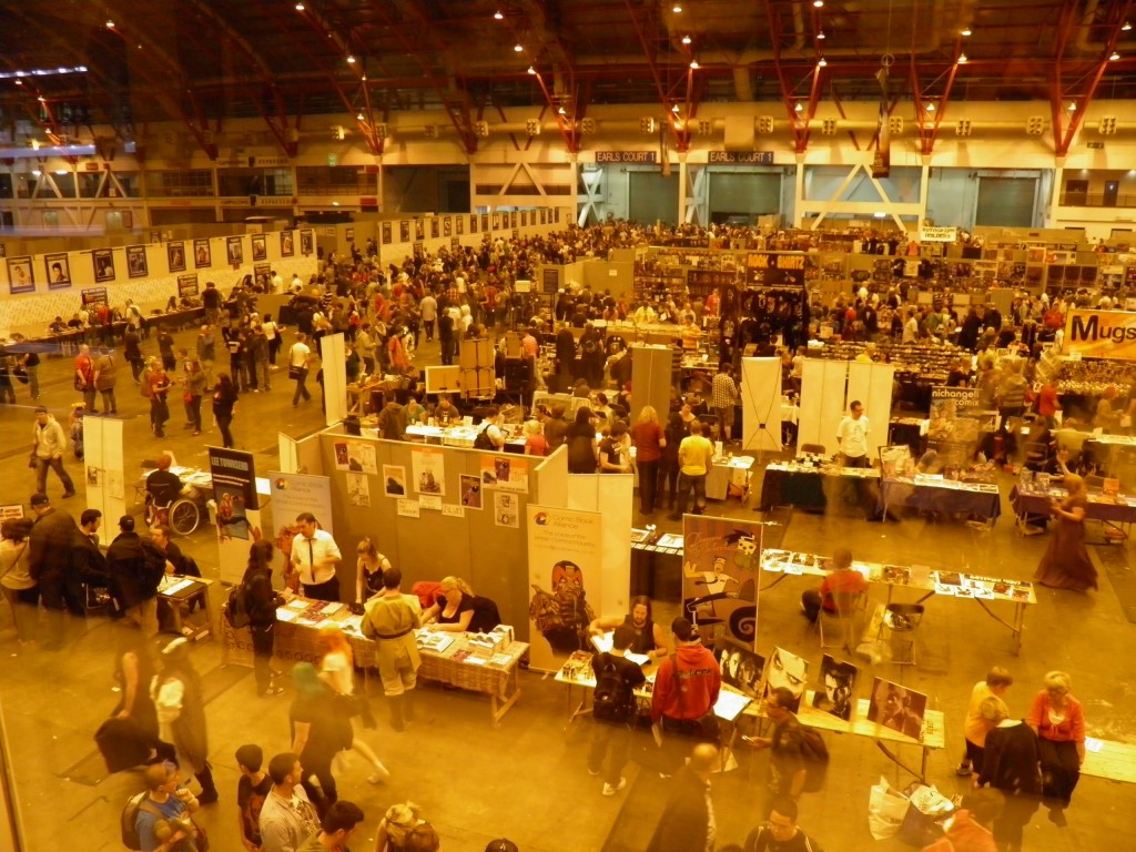 London Film and Comic Convention - View of concourse