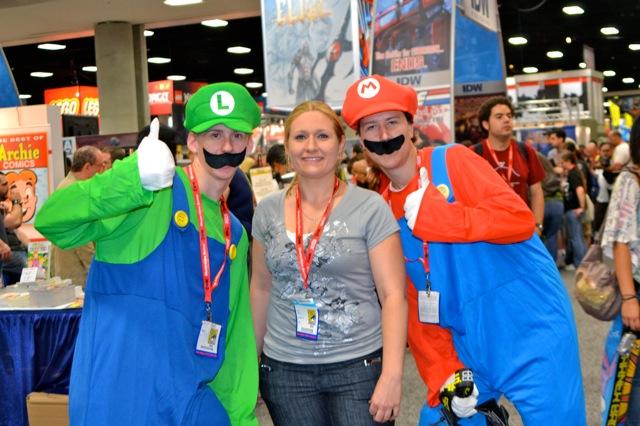 My SDCC adventure-Anne & Mario bros