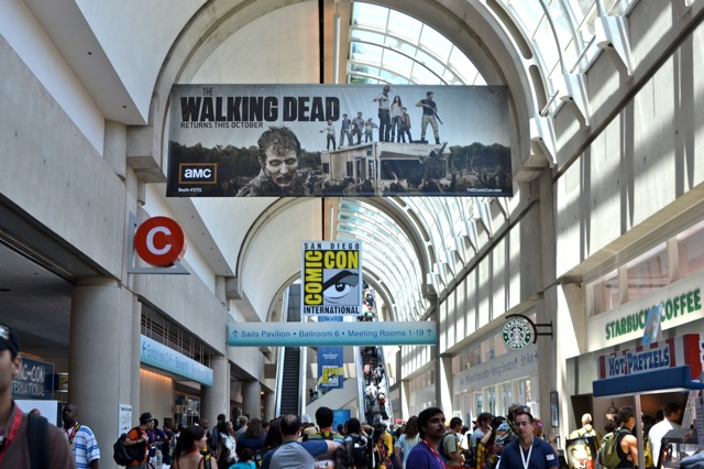 My SDCC adventure-Comic con banner