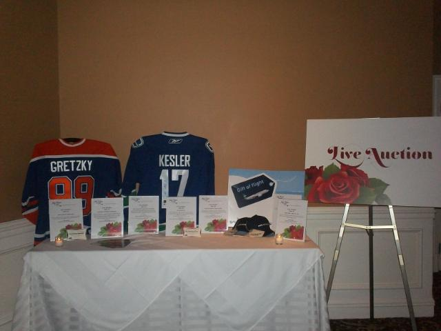 Once Upon A Cure 2011 - Exciting items