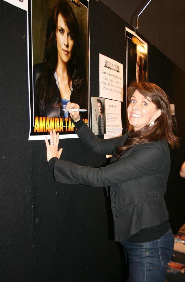 Armageddon Expo Melbourne - Amanda Tapping