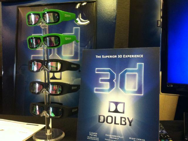 3D Entertainment Summit 2011 - Dolby 3D glasses