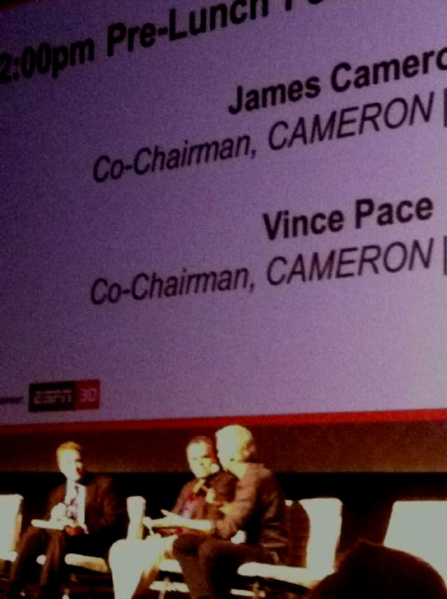 3D Entertainment Summit 2011 - Pace, Cameron,  Dowling