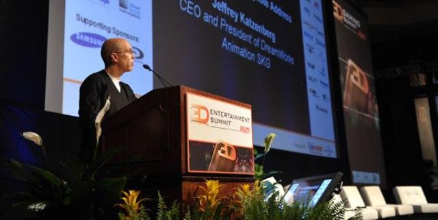 3D Entertainment Summit - At the podium