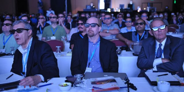 3D Entertainment Summit - Crowded Room