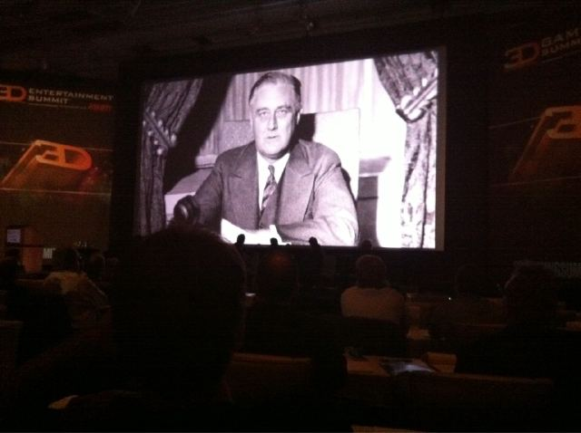 3D Entertainment Summit - FDR in 3D