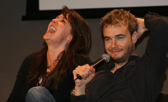 Armageddon Expo Melbourne - Amanda Tapping and Robin Dunne