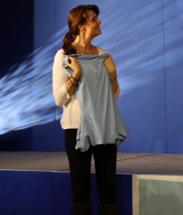 AT5 Amanda with invisible Nubbin T-Shirt