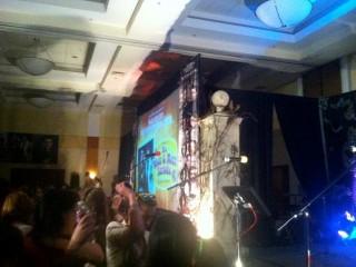 Karaoke gets started Supernatural Burbank 2012