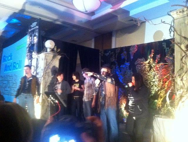 Matt Cohen, Gabriel Tigerman, Kim Rhodes, Chad Lindberg, Richard Speight Jr. Supernatural Burbank 2012
