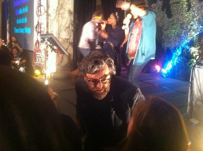 Surprise guest Timothy Omundson of Psych - Supernatural Burbank 2012