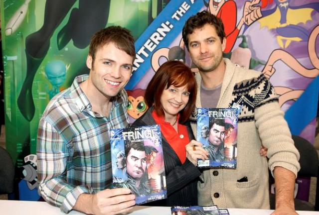 Wondercon 2012 - Seth Gabel, Blair Brown and Josh Jackson of Fringe