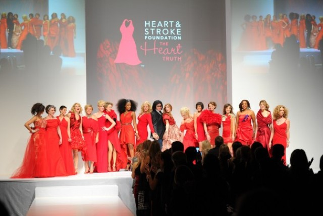 The Heart Truth Canada - 2012 Gala charity event finale