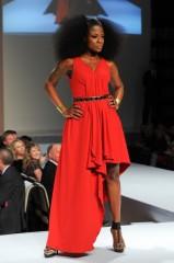 The Heart Truth Canada - Jully Black wearing Lauren Bagliore