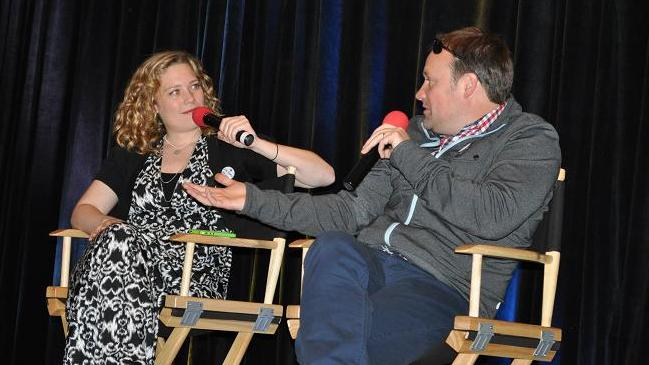 Stargate Vancouver 2012 - Kate and David Hewlett