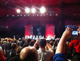 Calgary Expo 2012 - Packed ballroom for Star Trek TNG panel
