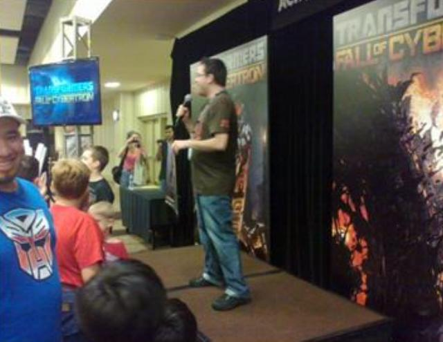 BotCon 2012 - Activision Transformers demonstration