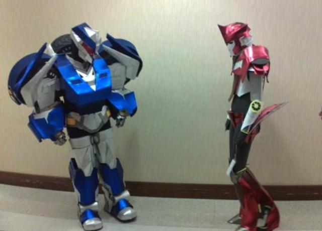 BotCon 2012 - Transformers costumes!