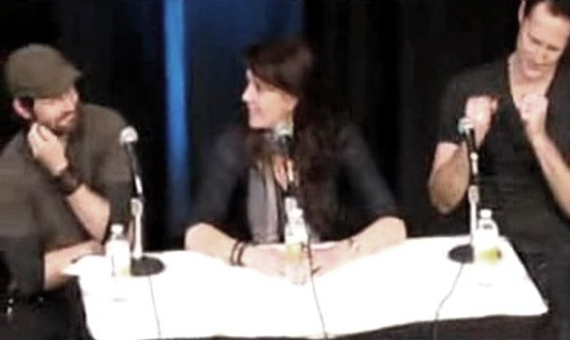 Calgary Expo 2012 - Ryan Robbins, Amanda Tapping and Chris Heyerdahl