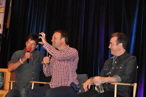 Stargate Vancouver 2012 - Joe Flanigan, David Hewlett and Paul McGillion