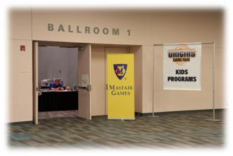 Origins Game Fair 2012 - The fun programs for kids