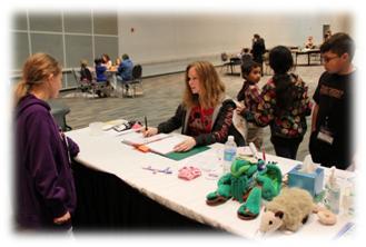 Origins Game Fair 2012 - The kids room