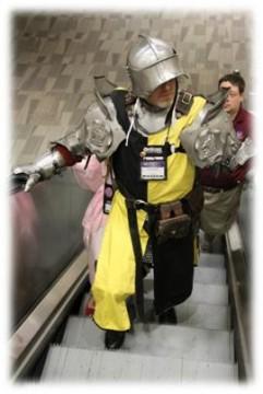 Origins Game Fair 2012 - My Cosplay hubby in battle armor