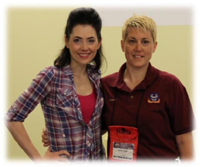 Origins Game Fair 2012 - Adrienne Wilkinson and me FidgetTBC