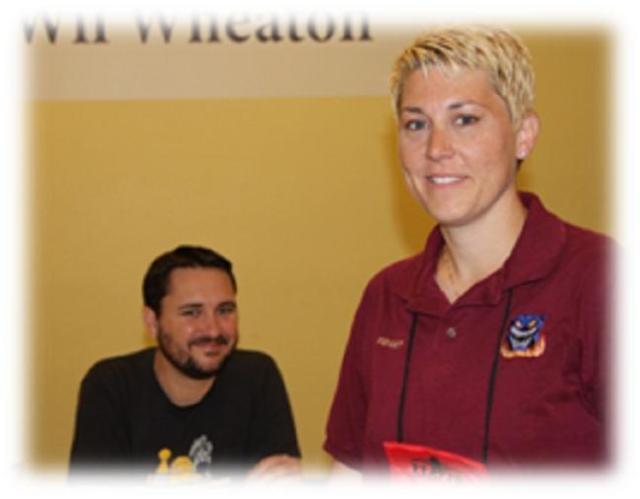 Origins Game Fair 2012 - Wil Wheaton and me FidgetTBC