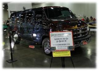 Origins Game Fair 2012 - Ed Beard Juniors masterpiece DragonLance Van