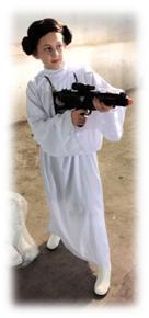 Origins Game Fair 2012 - My daughter as Pricess Leia of Star Wars