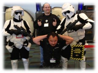 Origins Game Fair 2012 - Captured by Storm Troopers