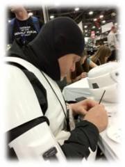 Origins Game Fair 2012 - Storm Troopers sign autographs