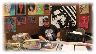 Origins Game Fair 2012 - Rik Deschains fabulous artwork