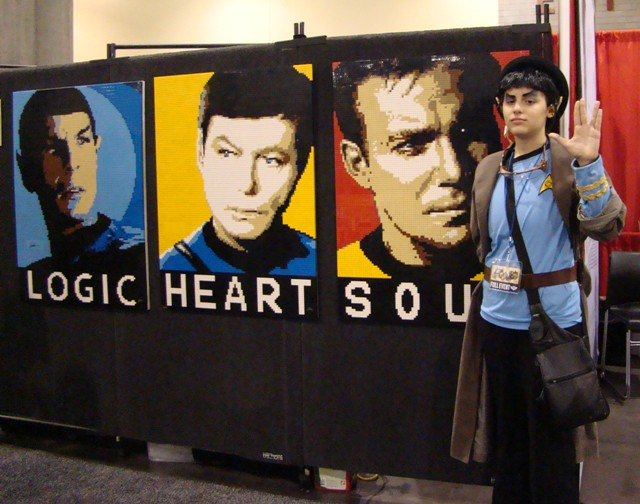 Phoenix Comicon 2012 - Spock, McCoy and Kirk