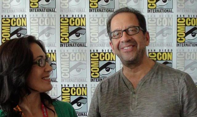 SDCC 2012 - Lost Girls Emily Andras and Jay Firestone