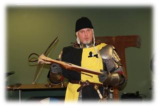 Warren County Reading Renaissance Festival -Crossbow training by New Empire Troupe