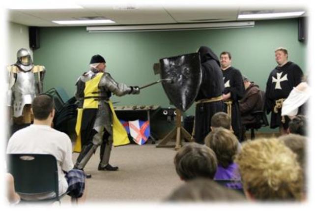 Reading Renaissance Festival - New Empire Troupe delivers a piercing blow!