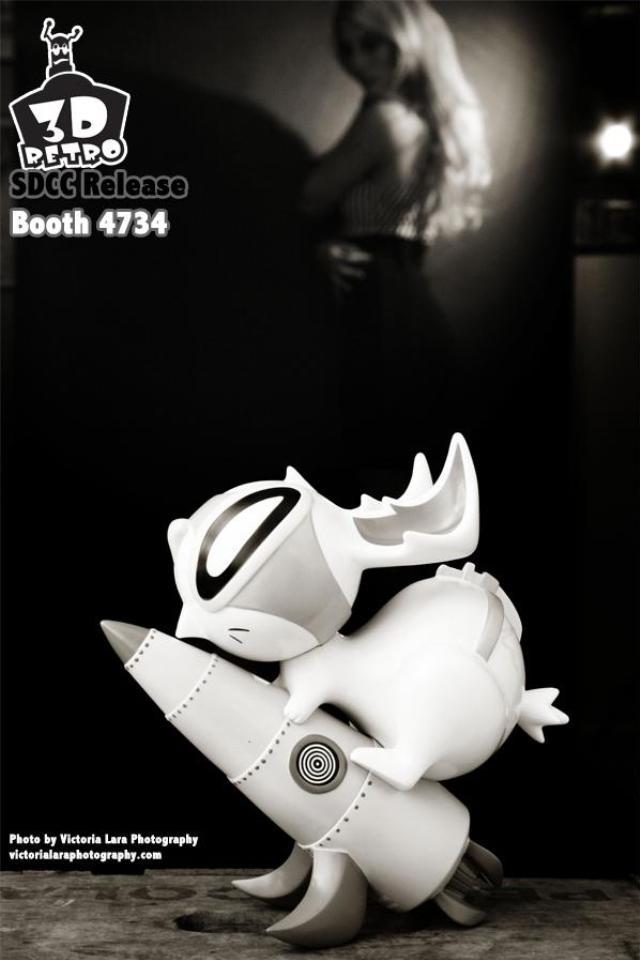 SDCC 2012 - Bellicose Bunny Collectors Edition