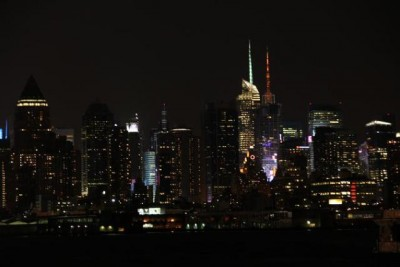 City view on the way home from Right On Target at the New York Fringe Festival