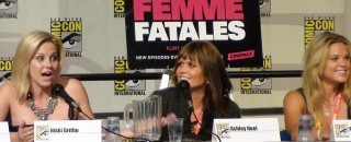 SDCC  2012 - Femme Fatales Panel - Nikki Griffin,  Ashley Noel and Betsy Rue