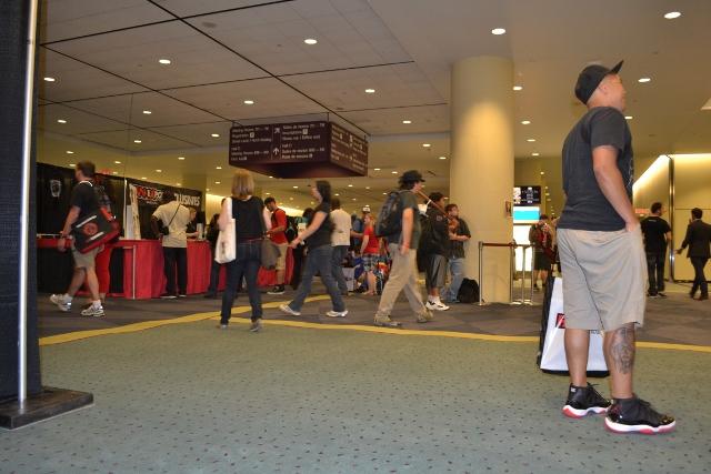 Fan Expo Toronto 2012 - Fans mingling
