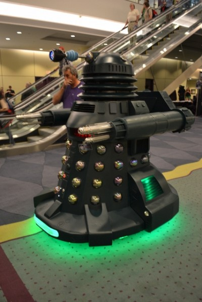 Fan Expo Toronto 2012 - Larger Dalek with cool features