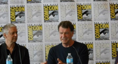 Comic-Con 2012 - Rocky Collins joins the discussion with John Noble of Dark Matters