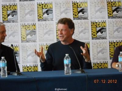 Comic-Con 2012 - Always the scientist - John Noble of Dark Matters