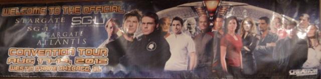 Stargate Chicago 2012 - Celebrity Banner