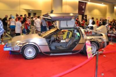 Toronto Fan Expo - Back to the Future DeLorean